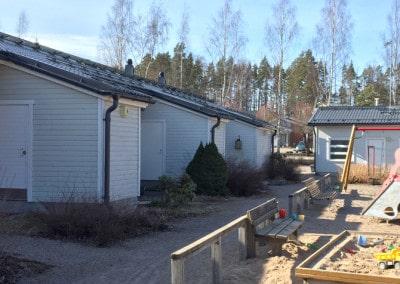 Julkisivujen maalaus, Suomenoja Espoo